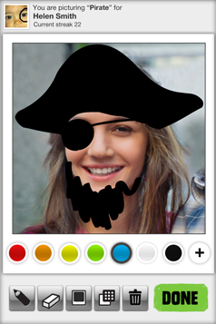 Oh Snap! Pirate doodle